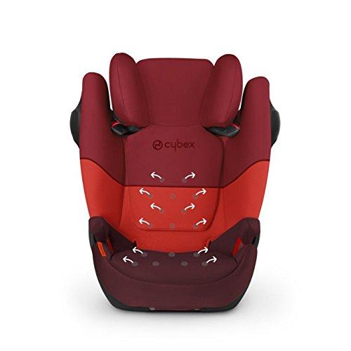Cybex Solution M Fix SL Rumba Red dečije auto sedište udobno i bezbedno