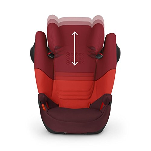 Cybex Solution M Fix SL Rumba Red dečije auto sedište sa podesivim naslonom