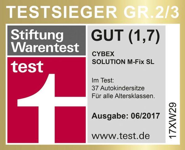 Cybex Solution M Fix SL Rumba Red dečije auto sedište testirano i odoboreno