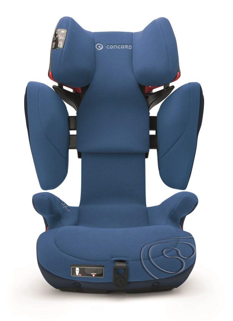 Concord auto sediste Transformer X-bag Ocean Blue bezbedno i udobno