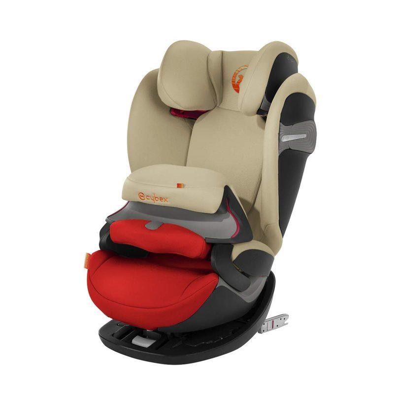 cybex auto sedi te 9 36kg 1 2 3 pallas s fix autumn gold. Black Bedroom Furniture Sets. Home Design Ideas