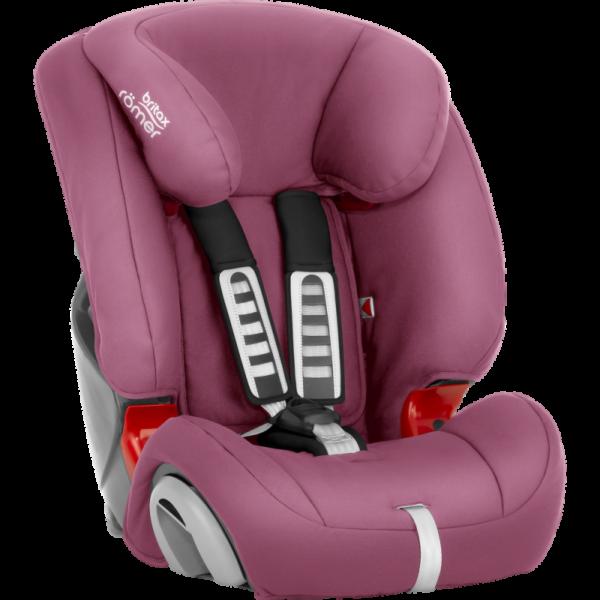 Britax Romer sedište za decu Evolva Wine Rose za udobnu i bezbednu vožnju