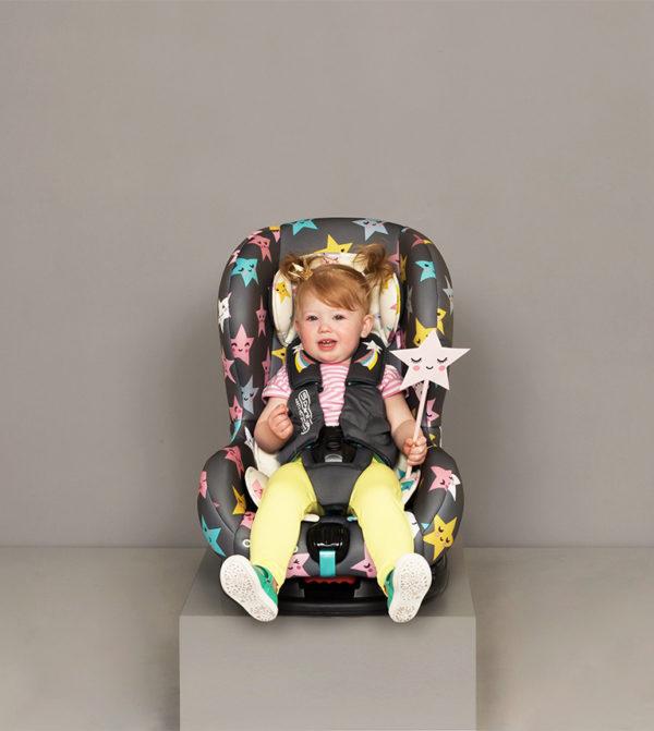 Cosatto Moova 2 Happy Hush Stars auto sedište oduševiće vaše mališane
