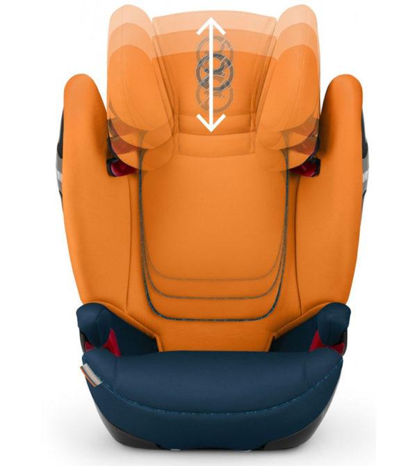 Cybex auto sedište Pallas S Fix Tropical Blue za bezbednu vožnju