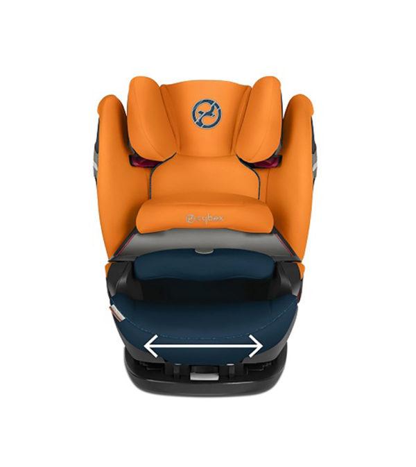Cybex auto sedište Pallas S Fix Tropical Blue sa ojačanom bočnom zaštitom