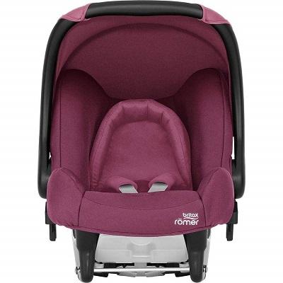 Auto sediste za bebe Baby Safe Britax Romer roze